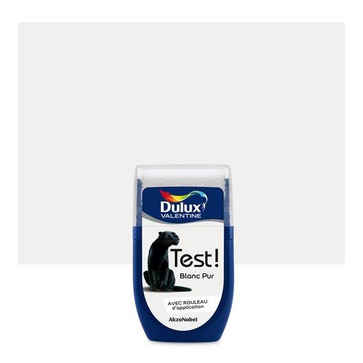 Testeur peinture blanc pur DULUX VALENTINE Color resist 0.03 l