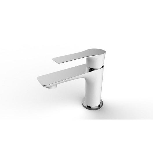 mitigeur de lavabo blanc lover leroy merlin. Black Bedroom Furniture Sets. Home Design Ideas