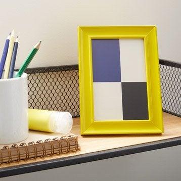 Cadre Pep's, 10 x 15 cm, jaune