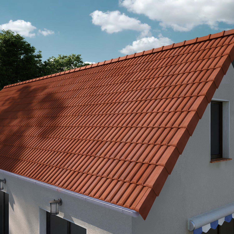 tuile imerys toiture flamm rustique pv13 leroy merlin. Black Bedroom Furniture Sets. Home Design Ideas