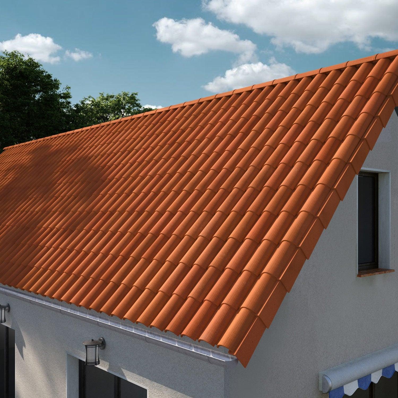 tuile imerys toiture rouge omega 10 leroy merlin. Black Bedroom Furniture Sets. Home Design Ideas