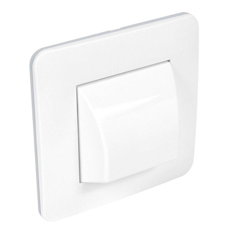 Sortie De Câble Complet Debflex Casual Blanc