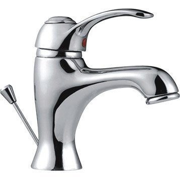 Mitigeur lavabo chromé, SENSEA Emmy