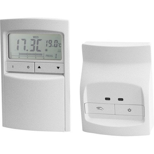 Thermostat programmable radio celcia crono 912 rf leroy merlin - Thermostat leroy merlin ...