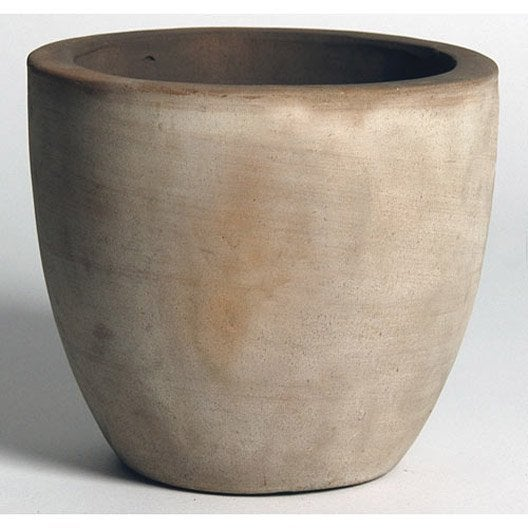 pot de fleurs bois fibre plastique rond rectangulaire couleur poterie d corative jardin. Black Bedroom Furniture Sets. Home Design Ideas