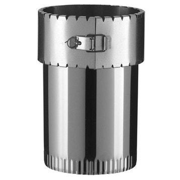 Accessoires de raccordement et tubage conduit raccord - Reducteur cheminee 200 150 ...