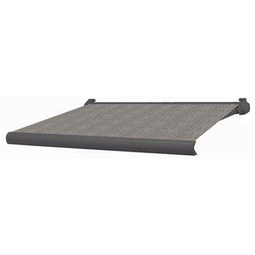 store banne manuel city coffre int gral aluminium larg 3 x avanc e 2m. Black Bedroom Furniture Sets. Home Design Ideas