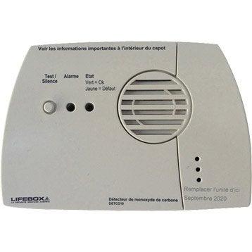 D tecteur de fum e de monoxyde de carbone et de gaz d tecteur de fum e alarme maison et - Detecteur monoxyde de carbone chaudiere gaz ...