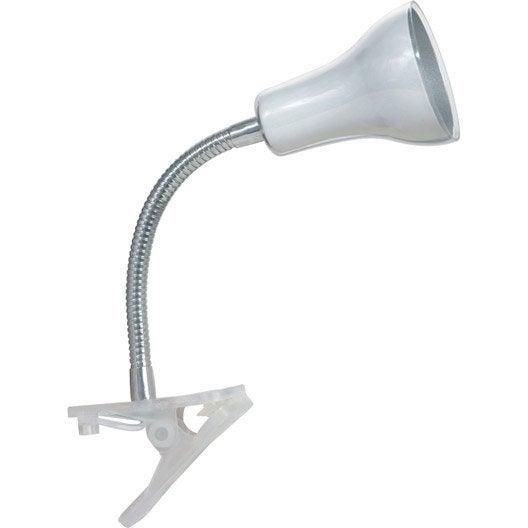 Lampe de bureau pince blanc salta inspire - Leroy merlin lampe bureau ...