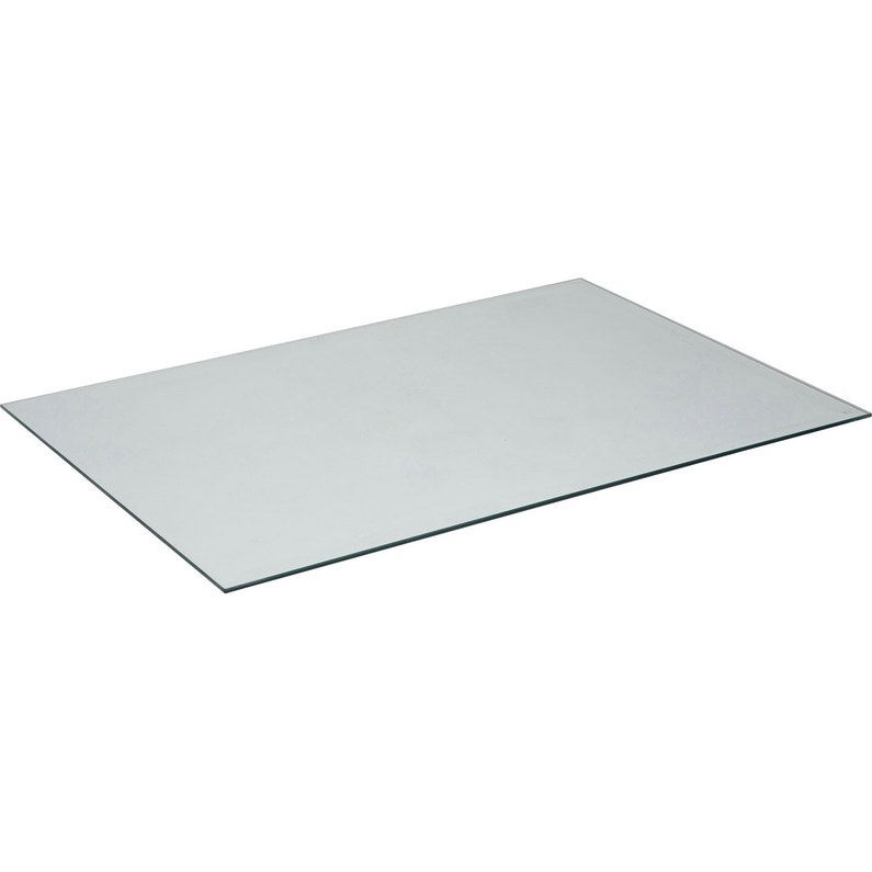 Plateau De Table Verre L140 X L72 Cm X Ep8 Mm