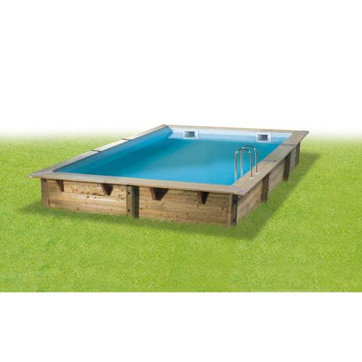 piscine bois 3x3 leroy merlin