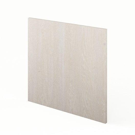 porte pour lave vaisselle de cuisine d cor bois nordik x cm leroy merlin. Black Bedroom Furniture Sets. Home Design Ideas