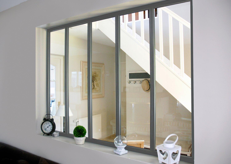 une verri re au style atelier pour plus de luminosit leroy merlin. Black Bedroom Furniture Sets. Home Design Ideas