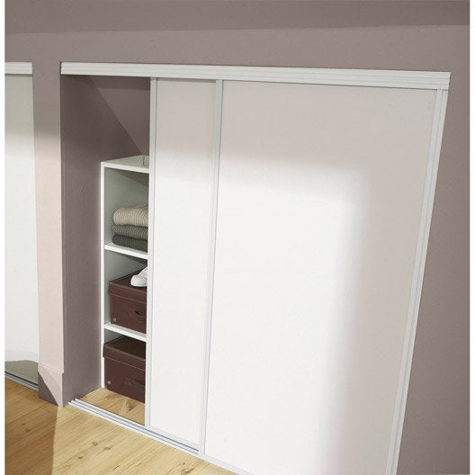 Lot De 2 Portes De Placard Coulissante Optimum X H