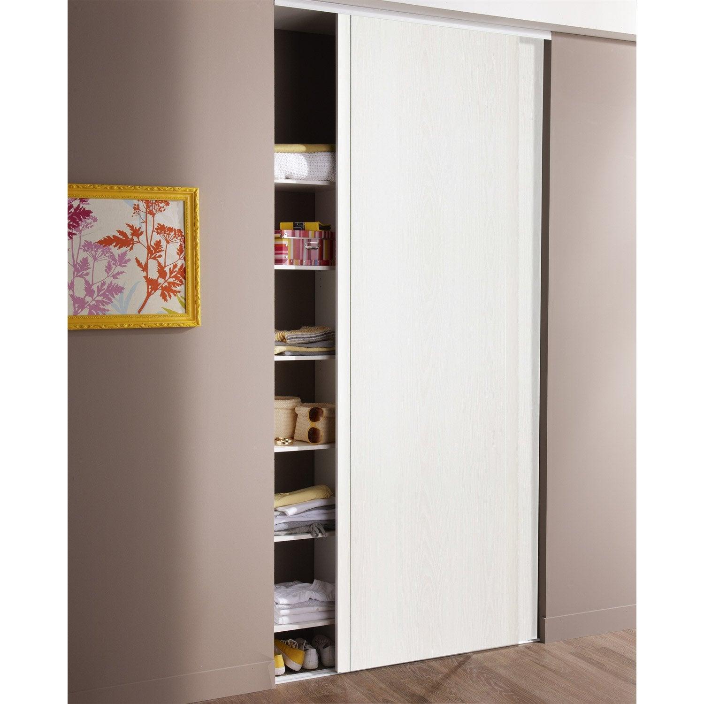 Lot de 34 portes de placard coulissante OPTIMUM l.34 x H.3450 cm ... - Porte Coulissante Pour Placard