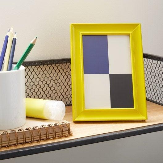 Cadre Pep's, 18 x 24 cm, jaune