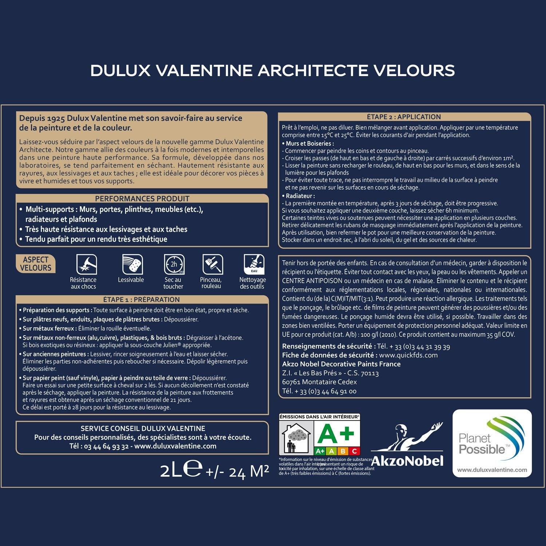 Nuancier Dulux Valentine Gamme Architecte Cheap Promo Laque Dulux