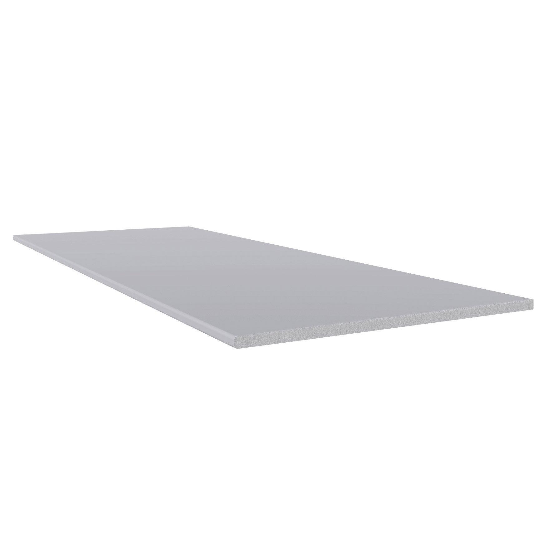 Planche Plate Pvc Freefoam Faza Solid Gris 3 M