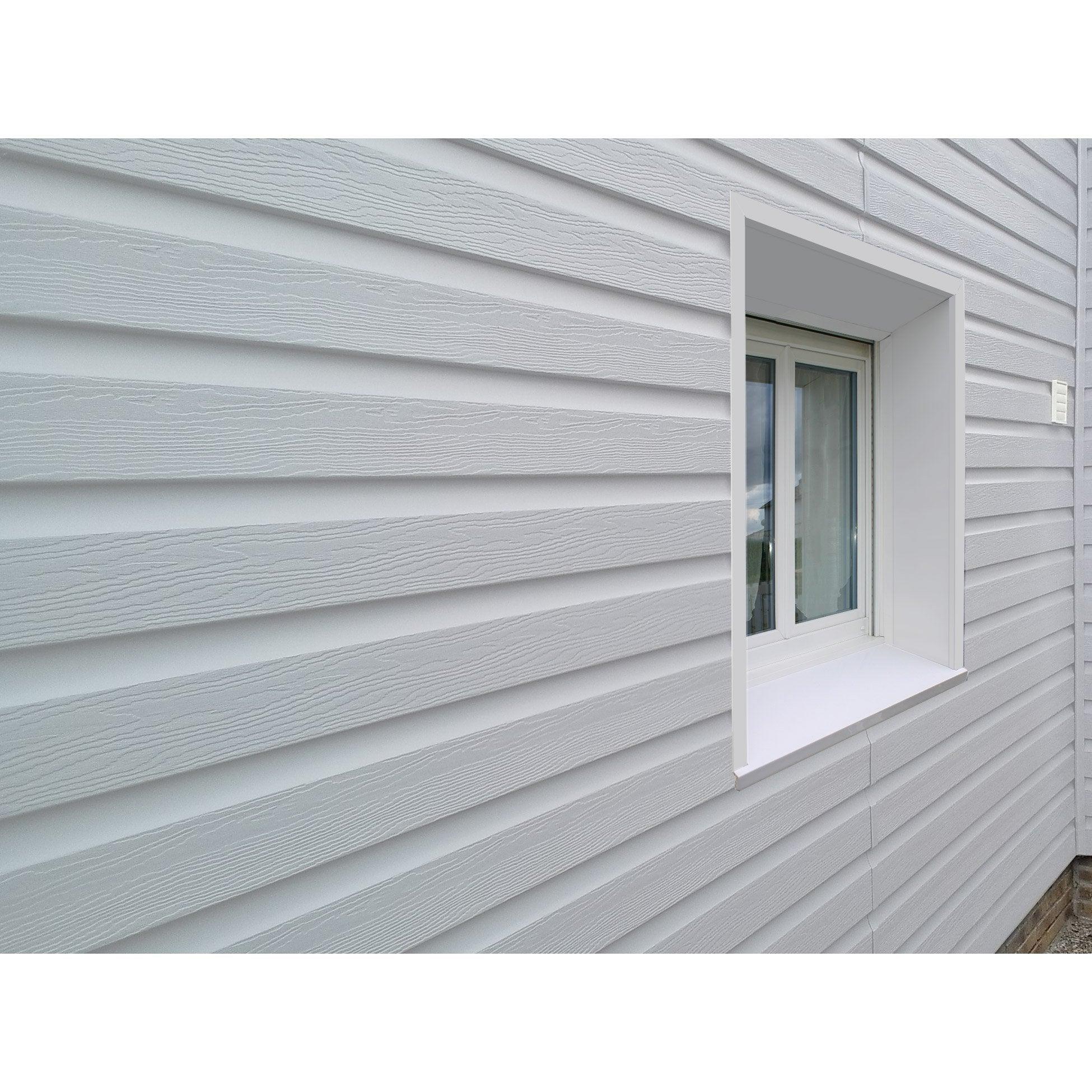 M Ral Freefoam Blanc 3 Bardage Pvc Clin 95 9003 Solid Pour 453qcjLAR