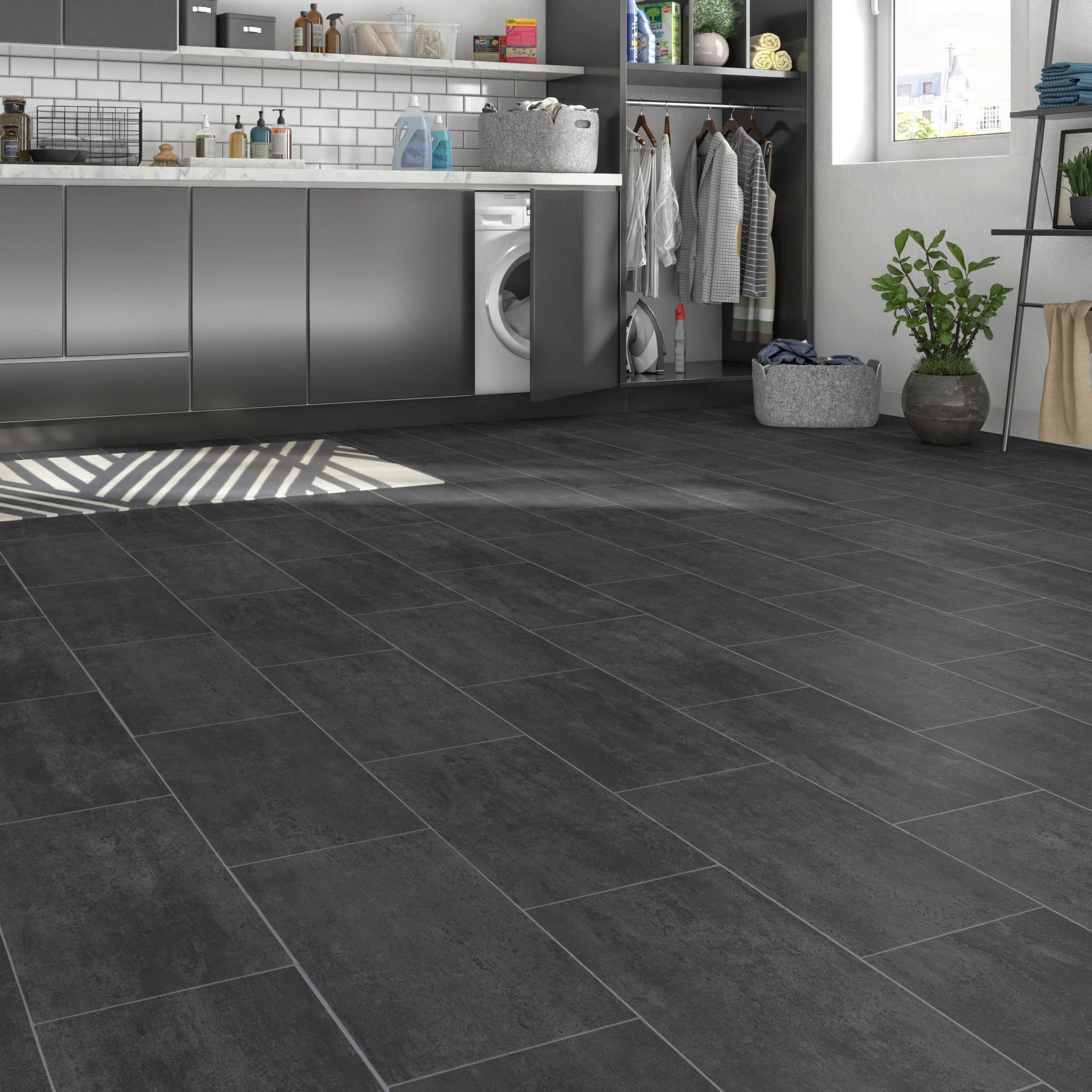 Sol PVC black melbourne l.2 m