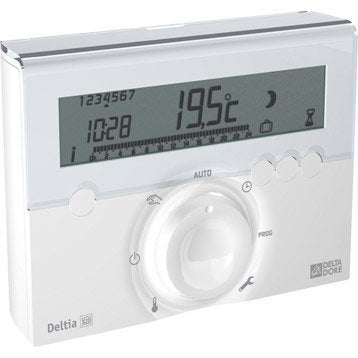 Thermostat programmable sans fil DELTA DORE Deltia 8.03