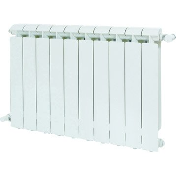 Radiateur chauffage central Klass, l.48 cm, 792 W