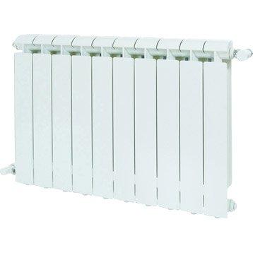 Radiateur chauffage central Klass blanc, l.48 cm, 792 W
