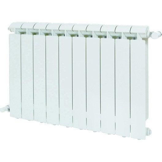 radiateur chauffage central aluminium klass 1056w leroy. Black Bedroom Furniture Sets. Home Design Ideas