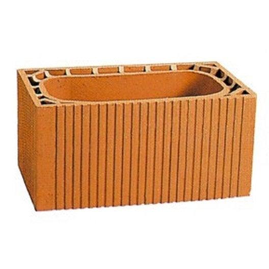 boisseau alv ole terre cuite x l 50 x cm leroy merlin. Black Bedroom Furniture Sets. Home Design Ideas