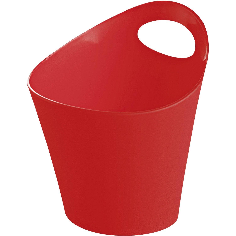 Panier en plastique rouge-rouge 3, Potichelli