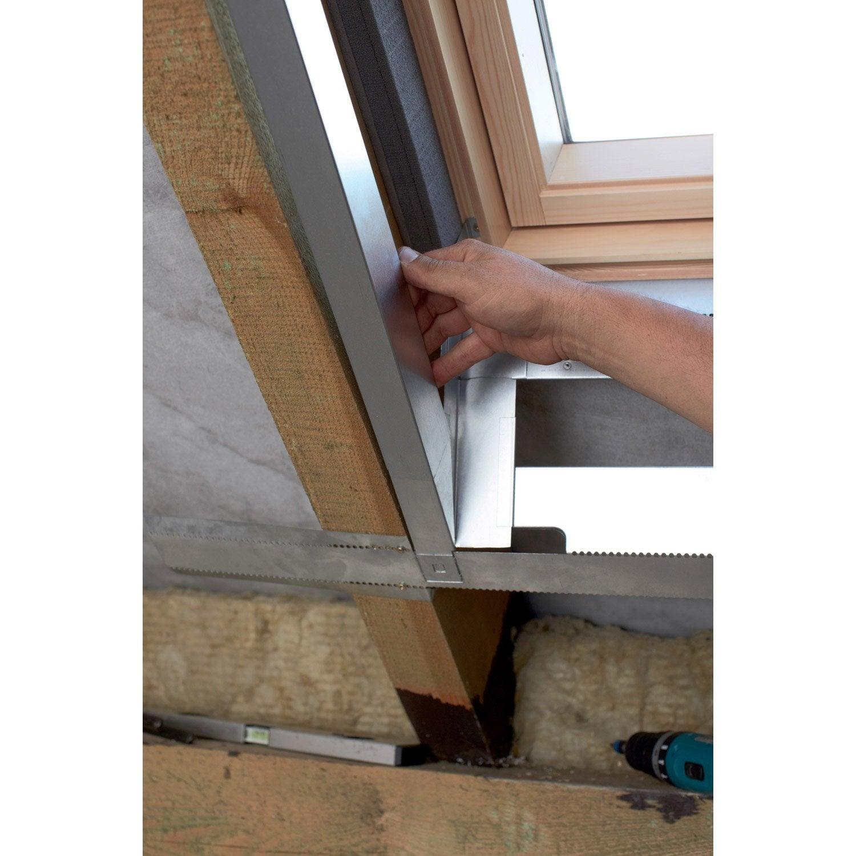 Kit d 39 habillage pour fen tre de toit velux lsg mk06 1000 for Velux fenetre de toit