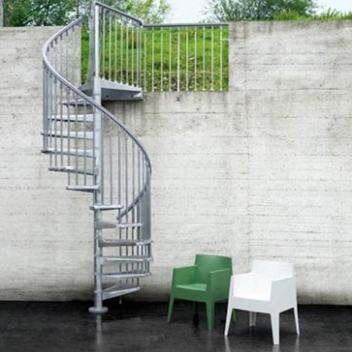 escalier helicoidal exterieur occasion