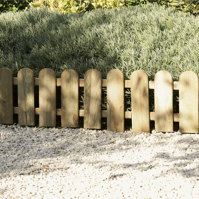Bordure De Jardin Bricomarche > Bordure Planter Panama Bois Marron H 45 X L 110 Cm Leroy Merlin