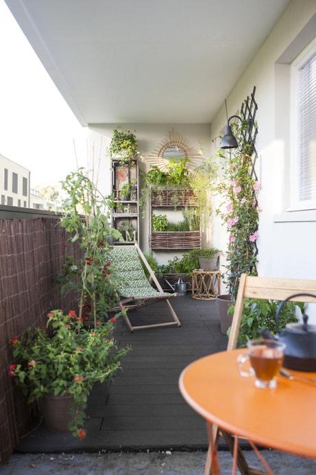 Balcon zen et nature
