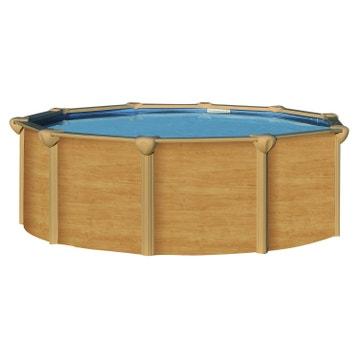 Piscine hors sol piscine bois gonflable tubulaire acier au meilleur prix leroy merlin - Destockage piscine hors sol acier ...