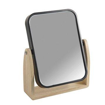 Miroir Scandi, noir-noir 0