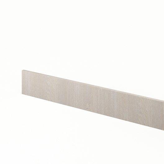 Plinthe de cuisine d cor bois plinthe nordik x for Plinthe cuisine 17 cm