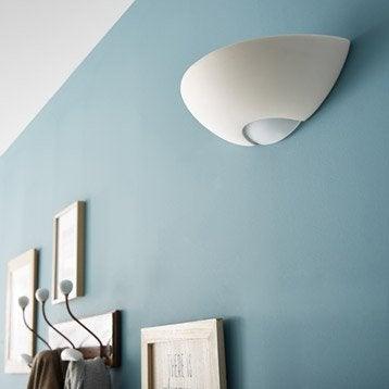 Applique, e27 Divona, 1 x 60 W, céramique blanc, INSPIRE