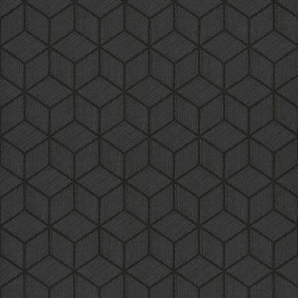 Papier Peint Hexagone Noir Irise Intisse Shades Leroy Merlin