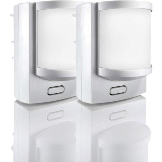 lot de 2 d tecteurs de mouvement connect somfy 2400441 leroy merlin. Black Bedroom Furniture Sets. Home Design Ideas