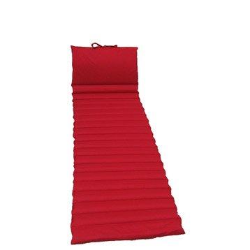 Coussin de sol rouge-rouge Lola