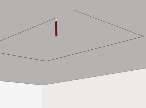 Fabriquer un coffre d 39 clairage avec kinook leroy merlin - Coffre eclairage plafond ...