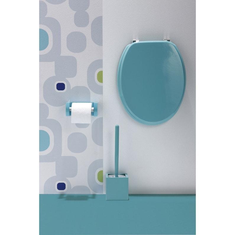 abattant bleu bois compress sensea young leroy merlin. Black Bedroom Furniture Sets. Home Design Ideas