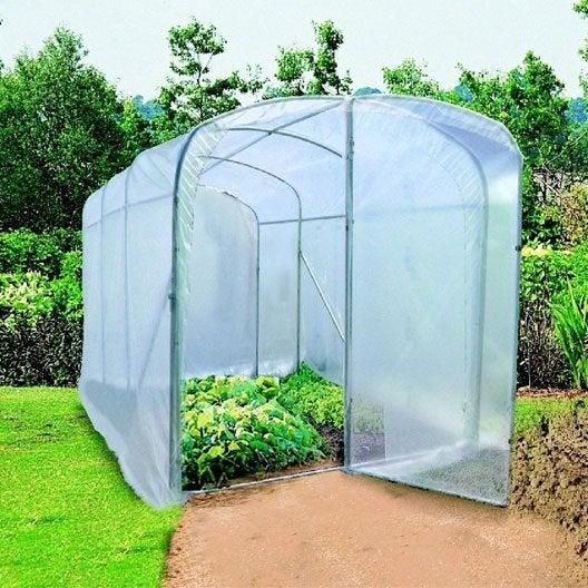 serre tunnel nortene luna xl x x cm. Black Bedroom Furniture Sets. Home Design Ideas