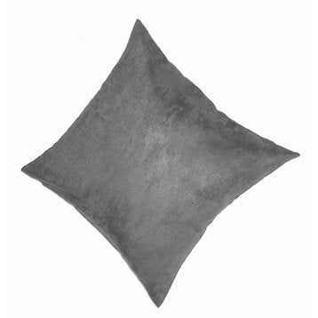 Coussin Manchester, brun taupe n°3, 45 x 45 cm