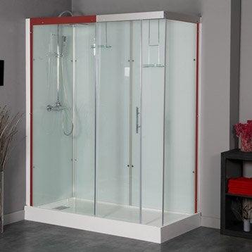 Cabine de douche rectangulaire 160x80 cm, Thalaglass 2 thermo