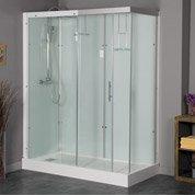 Cabine de douche rectangulaire 160x...