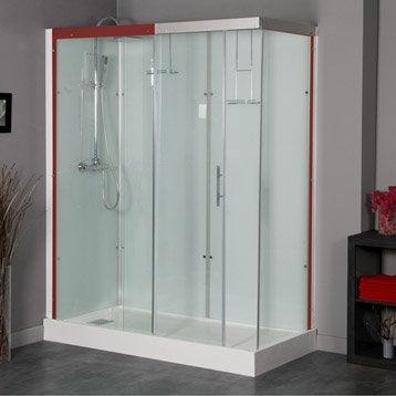 cabine de douche thalaglass 2 simple thermostatique. Black Bedroom Furniture Sets. Home Design Ideas