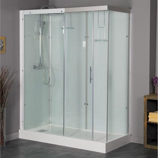 Cabine de douche salle de bains leroy merlin for Salle de bain cabine de douche