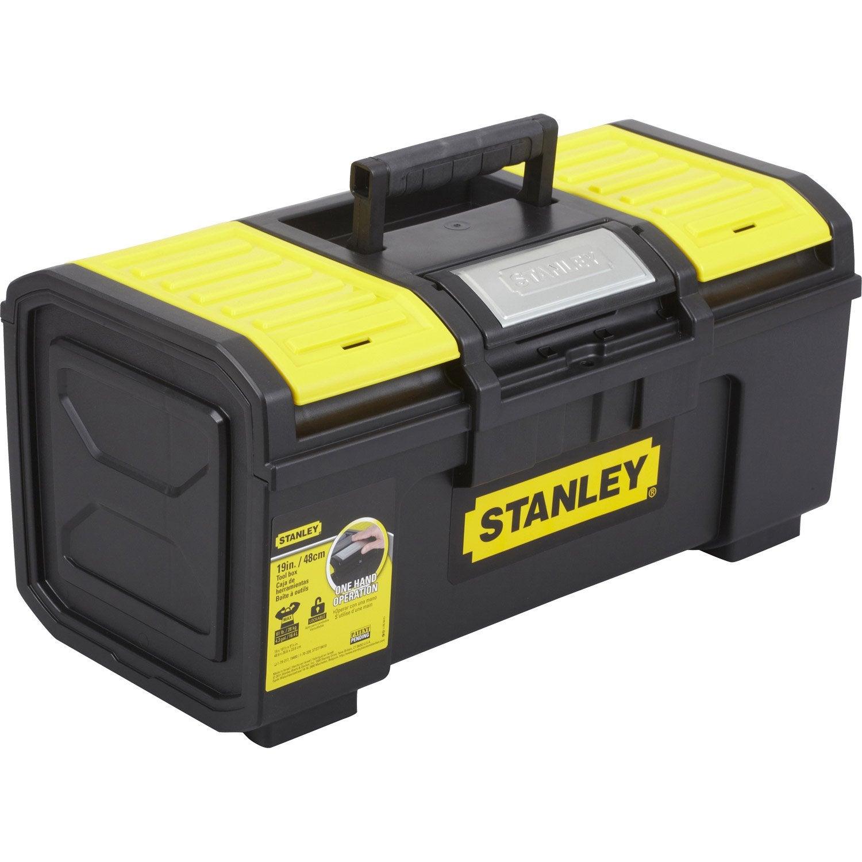 Boîte à outils STANLEY, L.48 cm   Leroy Merlin ec0c8aa1d449